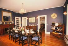Victoria Gardens Bed & Breakfast Dining Room